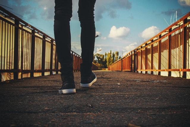 Daily Haiku: Footsteps